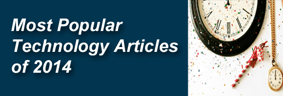 Post image for Most Popular Technology Articles of 2014