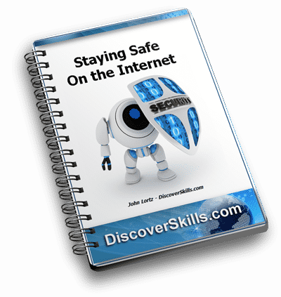 Staying Safe on the Internet - DiscoverSkills eBook