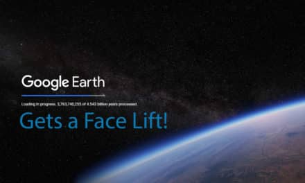 Google Earth Gets a Face Lift!