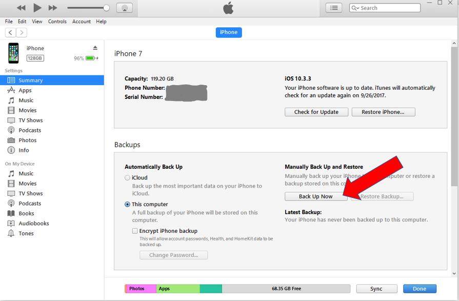 iTunes Screen 3